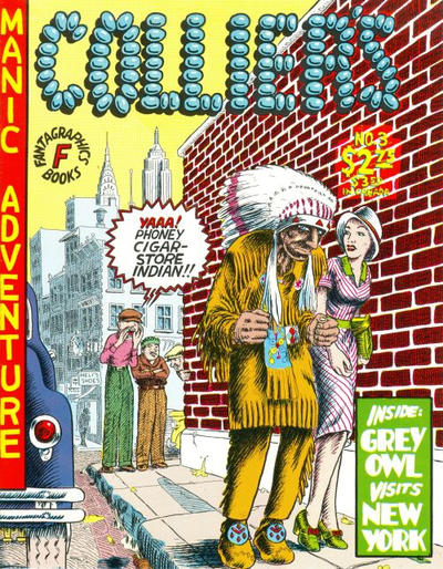 Cover for Collier's (Fantagraphics, 1991 series) #3