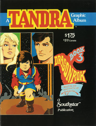Cover for Tandra (Southstar Publications, 1983 series) #3