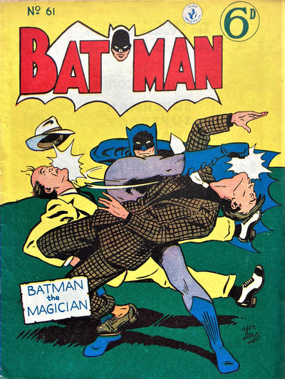 Cover for Batman (K. G. Murray, 1950 series) #61 [Price variant]