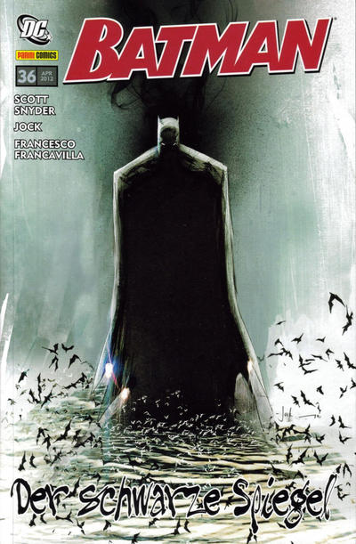 Cover for Batman Sonderband (Panini Deutschland, 2004 series) #36 - Der Schwarze Spiegel