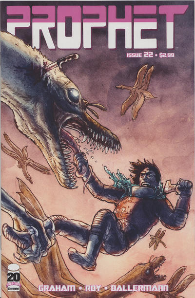 Cover for Prophet (Image, 2012 series) #22