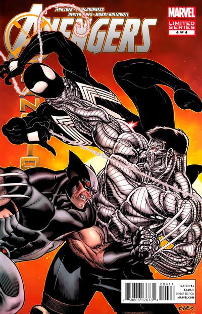 Cover for Avengers: X-Sanction (Marvel, 2012 series) #4 [Variant Cover by Steve Skroce]
