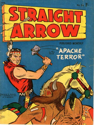 Cover for Straight Arrow Comics (Magazine Management, 1955 series) #24