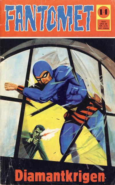 Cover for Fantomet (Nordisk Forlag, 1973 series) #14/1973