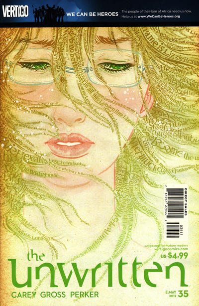 Cover for The Unwritten (DC, 2009 series) #35