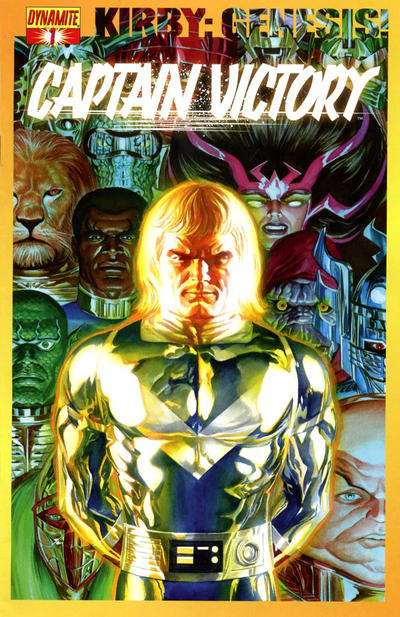 Cover for Kirby: Genesis - Captain Victory (Dynamite Entertainment, 2011 series) #1 [Cover A Alex Ross]