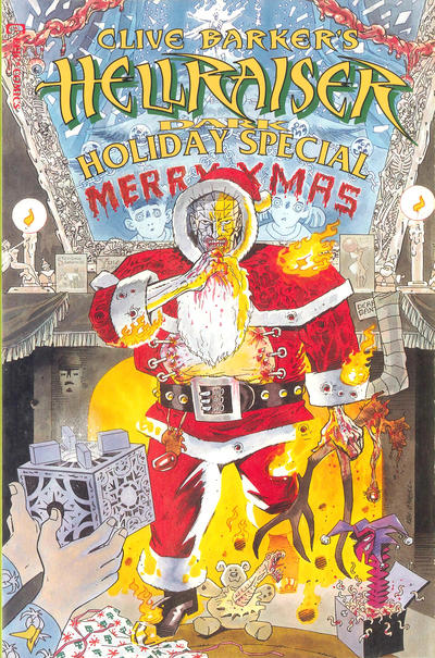 Cover for Clive Barker's Hellraiser Dark Holiday Special (Marvel, 1992 series) #1