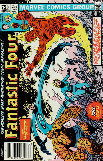 Cover for Fantastic Four (Marvel, 1961 series) #252 [Direct]