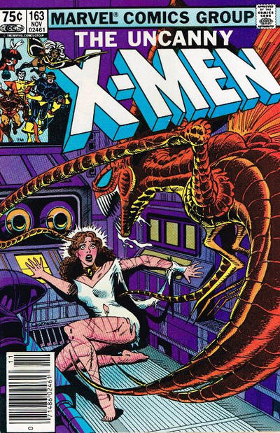 Cover for The Uncanny X-Men (Marvel, 1981 series) #163