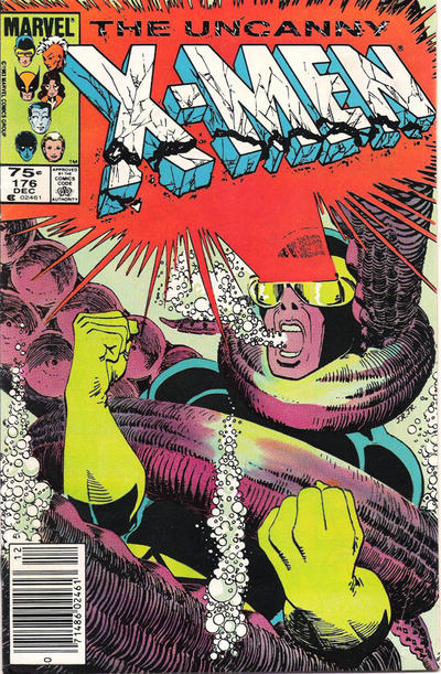 Cover for The Uncanny X-Men (Marvel, 1981 series) #176 [Direct]
