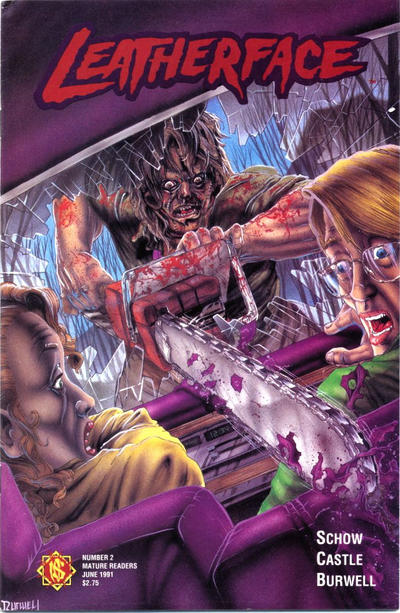 Cover for Leatherface (Northstar, 1991 series) #2