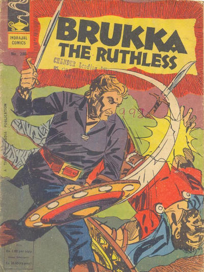 Cover for Indrajal Comics (Bennet, Coleman & Co., 1964 series) #288