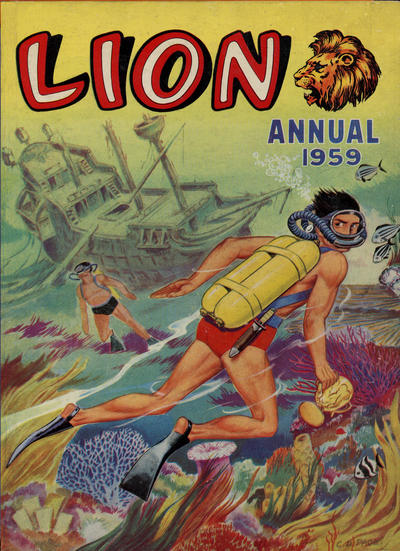 Cover for Lion Annual (Fleetway Publications, 1954 series) #1959