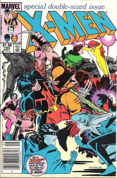Cover for The Uncanny X-Men (Marvel, 1981 series) #193