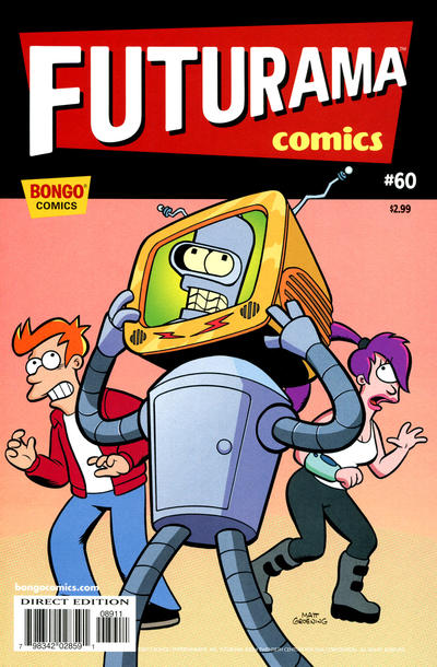 Cover for Bongo Comics Presents Futurama Comics (Bongo, 2000 series) #60