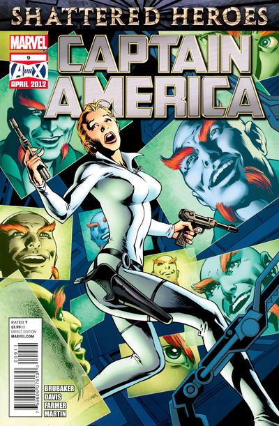 Cover for Captain America (Marvel, 2011 series) #9