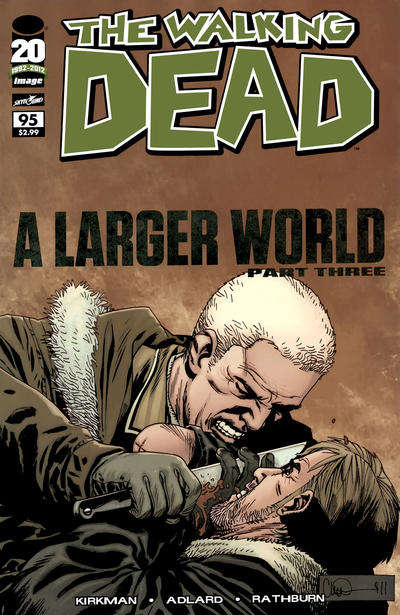 Cover for The Walking Dead (Image, 2003 series) #95
