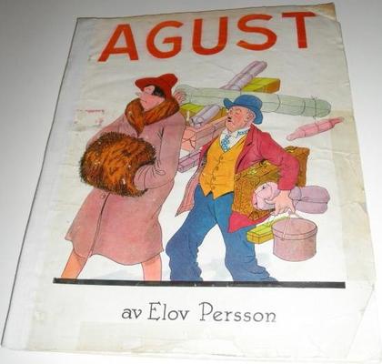 Cover for Agust [julalbum] (Åhlén & Åkerlunds, 1931 series) #1931