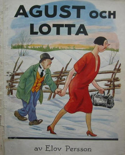 Cover for Agust [julalbum] (Åhlén & Åkerlunds, 1931 series) #1932