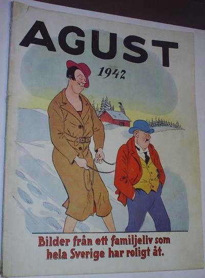 Cover for Agust [julalbum] (Åhlén & Åkerlunds, 1931 series) #1942