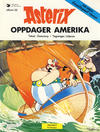 Cover Thumbnail for Asterix (1969 series) #22 - Asterix oppdager Amerika [2. opplag]