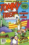 Cover for Tommy og Tigern (Bladkompaniet / Schibsted, 1989 series) #6/1991