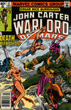 Cover for John Carter Warlord of Mars (Marvel, 1977 series) #27 [Newsstand Edition]