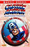 Cover for Coleccionable Marvel Héroes (Panini España, 2010 series) #3 - Capitán América: El Sueño Americano