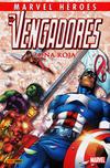 Cover for Coleccionable Marvel Héroes (Panini España, 2010 series) #7 - Los Vengadores: Zona Roja