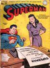 Cover for Superman (DC, 1939 series) #27 [Overseas Service Edition]
