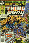 Cover for Marvel Two-in-One (Marvel, 1974 series) #26 [Whitman]