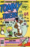 Cover for Tommy og Tigern (Bladkompaniet / Schibsted, 1989 series) #8/1991