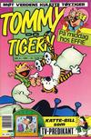 Cover for Tommy og Tigern (Bladkompaniet / Schibsted, 1989 series) #9/1991