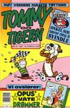 Cover for Tommy og Tigern (Bladkompaniet / Schibsted, 1989 series) #10/1991