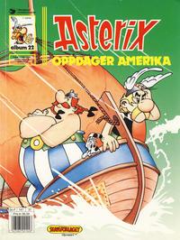 Cover Thumbnail for Asterix (Hjemmet / Egmont, 1969 series) #22 - Asterix oppdager Amerika [4. opplag]