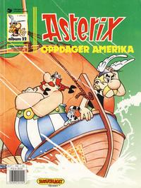 Cover Thumbnail for Asterix (Hjemmet / Egmont, 1969 series) #22 - Asterix oppdager Amerika [5. opplag]