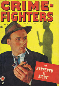 Cover Thumbnail for Crimefighters Comics (Bell Features, 1948 series) #9