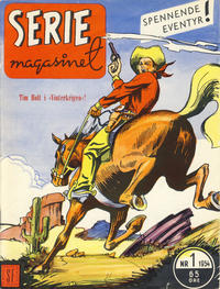 Cover Thumbnail for Seriemagasinet (Serieforlaget / Se-Bladene / Stabenfeldt, 1951 series) #1/1954