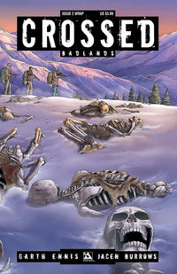 Cover Thumbnail for Crossed Badlands (Avatar Press, 2012 series) #2 [Wraparound Cover - Jacen Burrows]