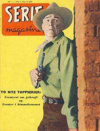 Cover Thumbnail for Seriemagasinet (Serieforlaget / Se-Bladene / Stabenfeldt, 1951 series) #1/1955