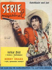 Cover Thumbnail for Seriemagasinet (Serieforlaget / Se-Bladene / Stabenfeldt, 1951 series) #4/1955