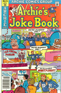 Cover Thumbnail for Archie's Joke Book Magazine (Archie, 1953 series) #274