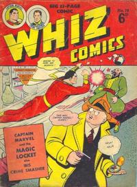 Cover Thumbnail for Whiz Comics (L. Miller & Son, 1950 series) #78
