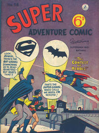 Cover Thumbnail for Super Adventure Comic (K. G. Murray, 1950 series) #58 [UK version]