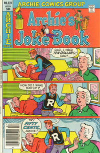 Cover Thumbnail for Archie's Joke Book Magazine (Archie, 1953 series) #278