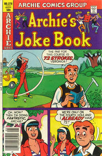 Cover Thumbnail for Archie's Joke Book Magazine (Archie, 1953 series) #279