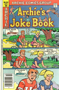 Cover Thumbnail for Archie's Joke Book Magazine (Archie, 1953 series) #281
