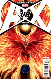 Cover Thumbnail for Avengers vs. X-Men (Marvel, 2012 series) #0 [Variant Cover by Stephanie Hans]