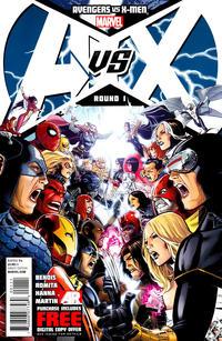 Cover for Avengers vs. X-Men (Marvel, 2012 series) #1 [Blank Variant Cover]