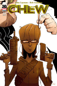 Cover Thumbnail for Chew (Image, 2009 series) #24
